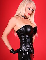 The best ever latex leather supreme babe
