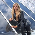 Roof-top Latex Fetish