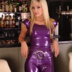 Purple Latex Babe Christiana
